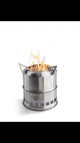 BUCKET FIRE - PELLET CAMPING STOVE