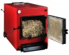 STRAW AND WOOD BOILER