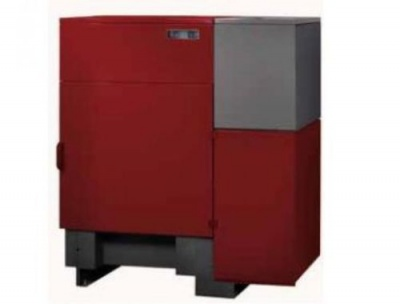 CALDERA 34kw wood and pellet boiler