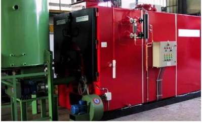 Woodchips steam boiler GV1000