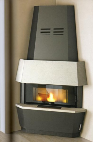 GIOTTO 12kw pellet fireplace