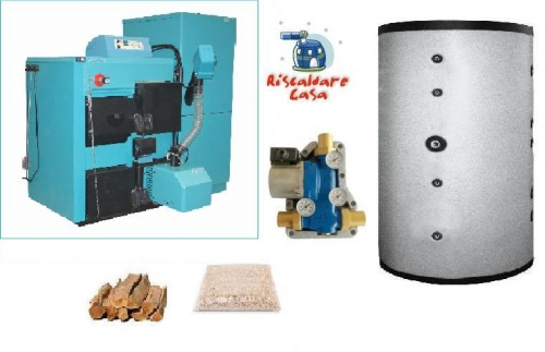 PELLET AND WOOD CLD32 BOILERS KIT copia
