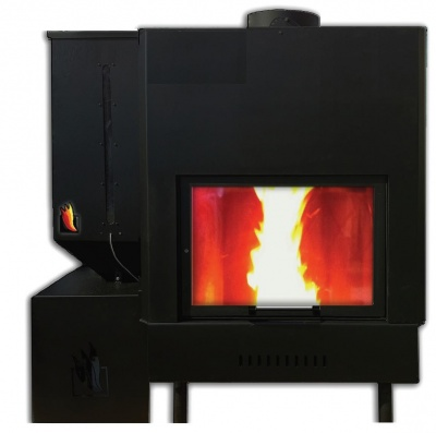 Wood and pellet fireplaces