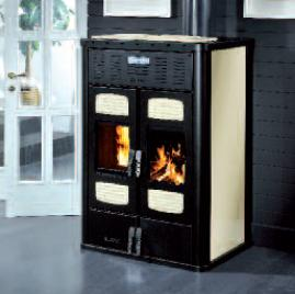 WOOD AND PELLET STOVE BI-FIRE 34kw